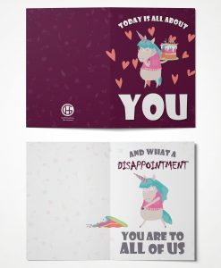 All About You Greeting Card