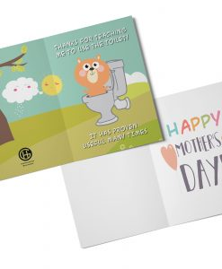 Thanks for Teaching Me Greeting Card Mothers Day