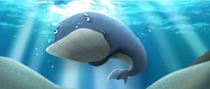 Wally the Whale Childrens Book Illustration 2